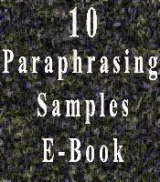 essay tips paraphrasing samples paraphrasing samples