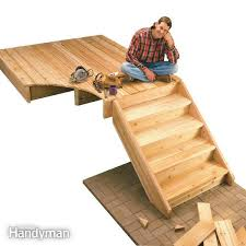 how to build deck stairs diy family