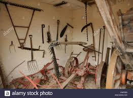 Farm Tools Old Farm Tools And Implements Stock Photo 50118249 Alamy