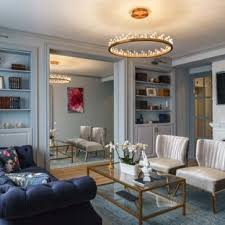Blue gray living room Orange Inspiration For Midsized Transitional Enclosed Medium Tone Wood Floor And Brown Floor Living Houzz Blue Gray Living Room Ideas Photos Houzz