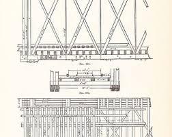 1892 technical drawing antique math geometric mechanical drafting interior design blueprint art ilration framing 100