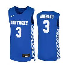 Nba Jersey Size Chart Kentucky Wildcats Bam Adebayo College Basketball Replica