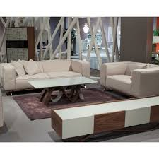 Michael Amini Living Room Furniture Trance Tempo Sofa Set By Michael Amini 2 Pc D2d Furniture Store