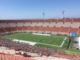 Los Angeles Coliseum Seating Chart Los Angeles Memorial Coliseum Section 302 Rateyourseats Com
