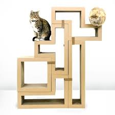 chic cat furniture. Best Cat Tree Without Carpet Ideas Chic Furniture