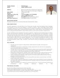 Regional Hse Manager Resume Training Manager Resume Corporate ...