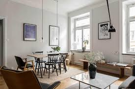 decorate apartment. A Scandinavian Inspired Living Room With Grey Walls And Big Windows. This Dreamy Swedish Apartment Decorate L