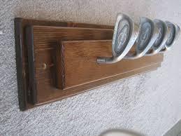 Golf Coat Rack Simple Repurposedgolfclubcoatrack Future House Ideas Pinterest