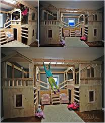 cool kids beds. 10 Cool DIY Bunk Bed Ideas For Kids 7 Beds