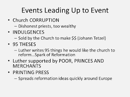 turning points thematic essay turning point protestant 3 events