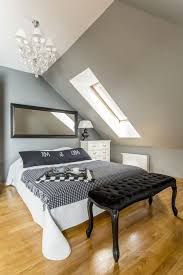 Wandgestaltung Schlafzimmer Dachschrge Wohndesign