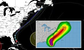 Hurricane Dorian Path Map Latest Euro Model Noaa Charts
