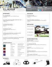 Resume D J Jackson Art