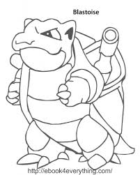 Small Picture Helpful picture variety of blastoise coloring page best suited