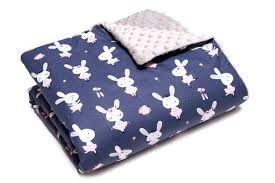 Luxury Baby Friendly White 100 Supersoft Infant Cotton Blanket Cot