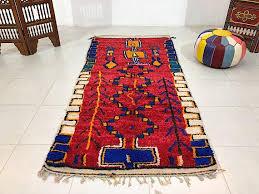 best home exquisite moroccan runner rug in peach 5 8 x 11 3 oriental rugs