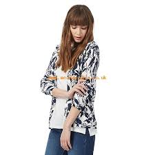 Patterned Blazer Womens Simple TailorMade Cardigan Navy Women's Knitwear New Cardigans Maine