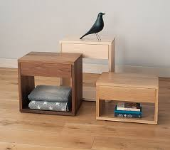 the naomi kubus table is an ethnicraft oak side table perfect as a bedside table or in the lounge due to its useful magazine storage slot bed side furniture