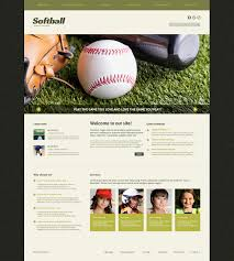 Baseball Websites Templates Baseball Responsive Joomla Template 49387