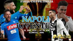 Juve manager maurizio sarri goes up against his former club. Prediksi Final Coppa Italia Napoli Vs Juventus 18 Juni 2020