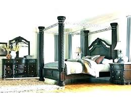 Black King Canopy Bed Black Iron King Canopy Bed Consign To Design ...