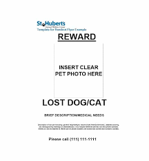 Basic Flyer Template 40 Lost Pet Flyers Missing Cat Dog Poster Template Archive