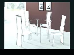 glass table with 4 chairs small glass dining table and 4 chairs cool clear table and