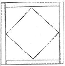 Imagination Express Preschool: Q is for Quilt & Here's the quilt block pattern. Adamdwight.com