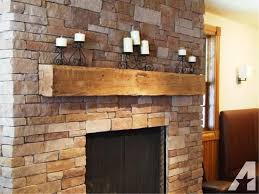 image of rustic wooden mantels for fireplaces