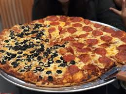 photo of round table pizza delano ca united states thin crust
