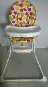 almost new mothercare baby high chair
