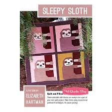 Sleepy Sloth Quilt Pattern Elizabeth Hartman #EH-033 | Fat Quarter ... & Find this Pin and more on Sewing/Quilting items I Need to get. Adamdwight.com