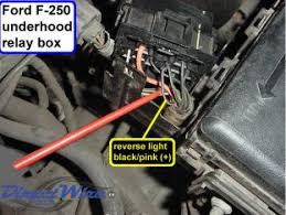color of reverse wire behind dash diesel forum thedieselstop com click image for larger version reverse light wire location jpg