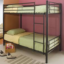 Coaster Denley Metal Twin over Full Bunk Bed Standard Furniture