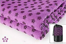 yoga mat towel microfiber hot yoga towel non slip sweat absorbent super