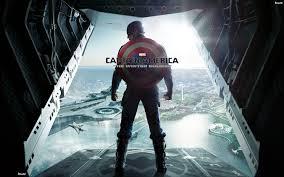 captain america in airplane