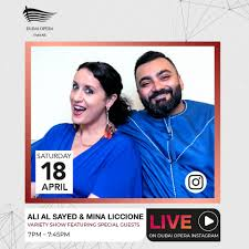 Dubomedy - Did you hear? Comedians Ali Al Sayed and Mina... | Facebook