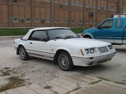 1984 Ford Mustang GT350 20th Anniversary convertible   Flickr
