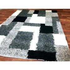 black and white modern area rug black and white area rug black white striped rug black