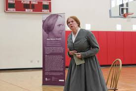 Abby Kelley Foster performance shares message of inspiration at Middle  School | Alliance Middle School
