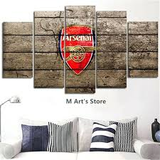 rectangle wall decor wall art modular picture nal football club poster print posters printed wall decor