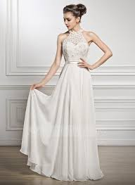 floor length wedding dresses photo 1