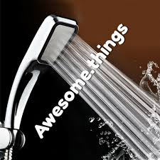 <b>High Pressure</b> Shower Head <b>300 Holes</b> Strong Pressure Easy To ...