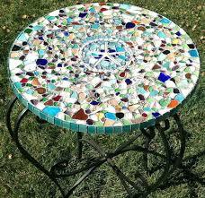 diy mosaic table mosaic tile table at making outdoor mosaic table top