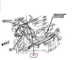 where is the underhood opti spark ground located at on 1997 lt1 lt1 optispark harness at Lt1 Optispark Wiring Harness