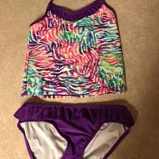 Find more Target Brand Girls Xl Two Piece Bathing Suit for sale at ...