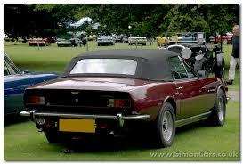 aston martin v8 1973. aston martin v8 v540 volante rear 1973