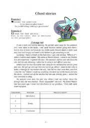english teaching worksheets ghost english worksheets ghost stories writing