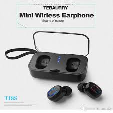 Factory Directly <b>T18s</b> Bluetooth 5.0 Earphones <b>TWS Wireless</b> ...