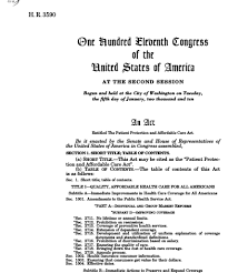 patient protection and affordable care act th congress  thumbnail of bill text